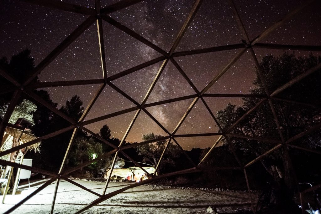 Boodaville geodesic dome