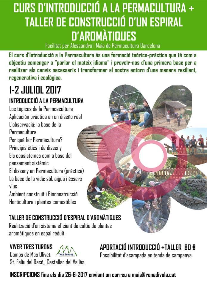 Permacultura Barcelona Vuver Tres Turons