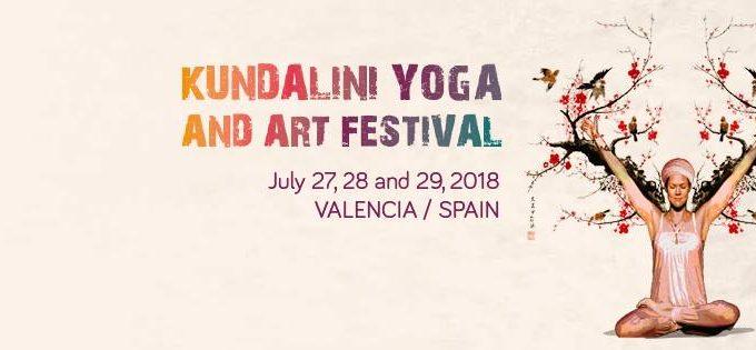 banner kundalini yoga art festival