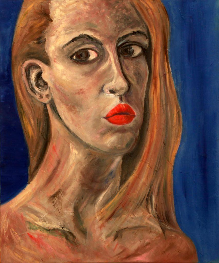 Self Portrait by Maria Seltsova